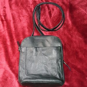 Rolfs Leather Crossbody Small Purse Large Wallet